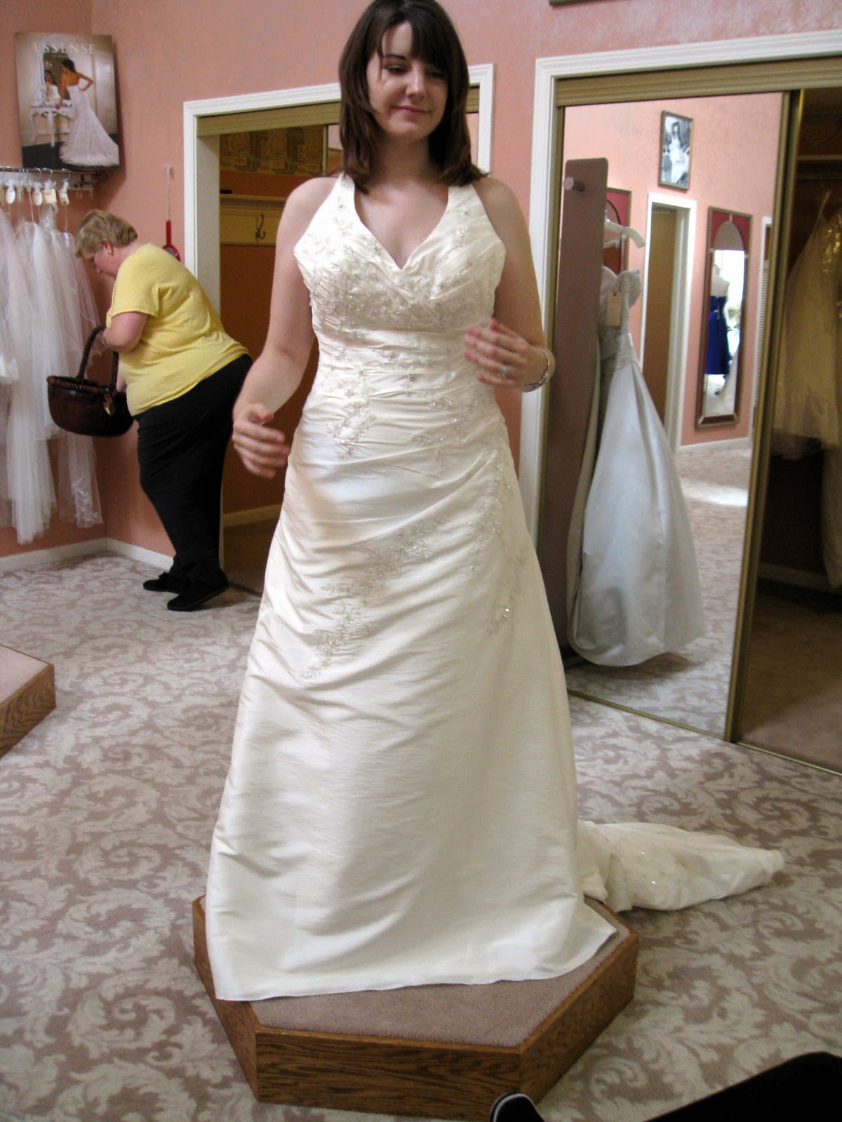 Argyle love wedding wednesday dress rejects for How much are casablanca wedding dresses