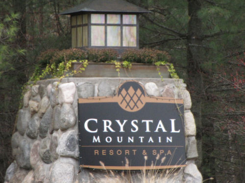 Crystal Mountain sign