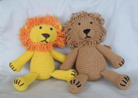 Amigurumi Leon : Bigunki amigurumis y ganchillo leones bigunki