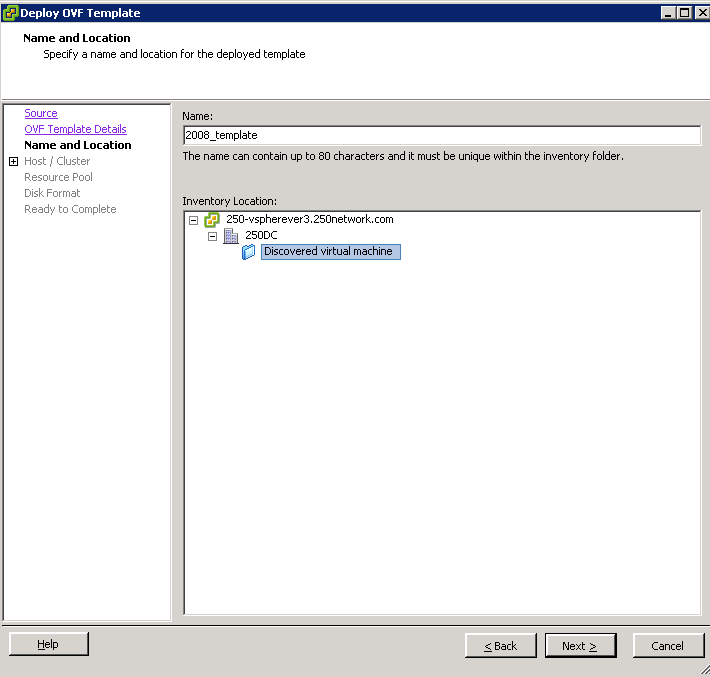 How to import and deploy a ova or ovf file in the vsphere client ...