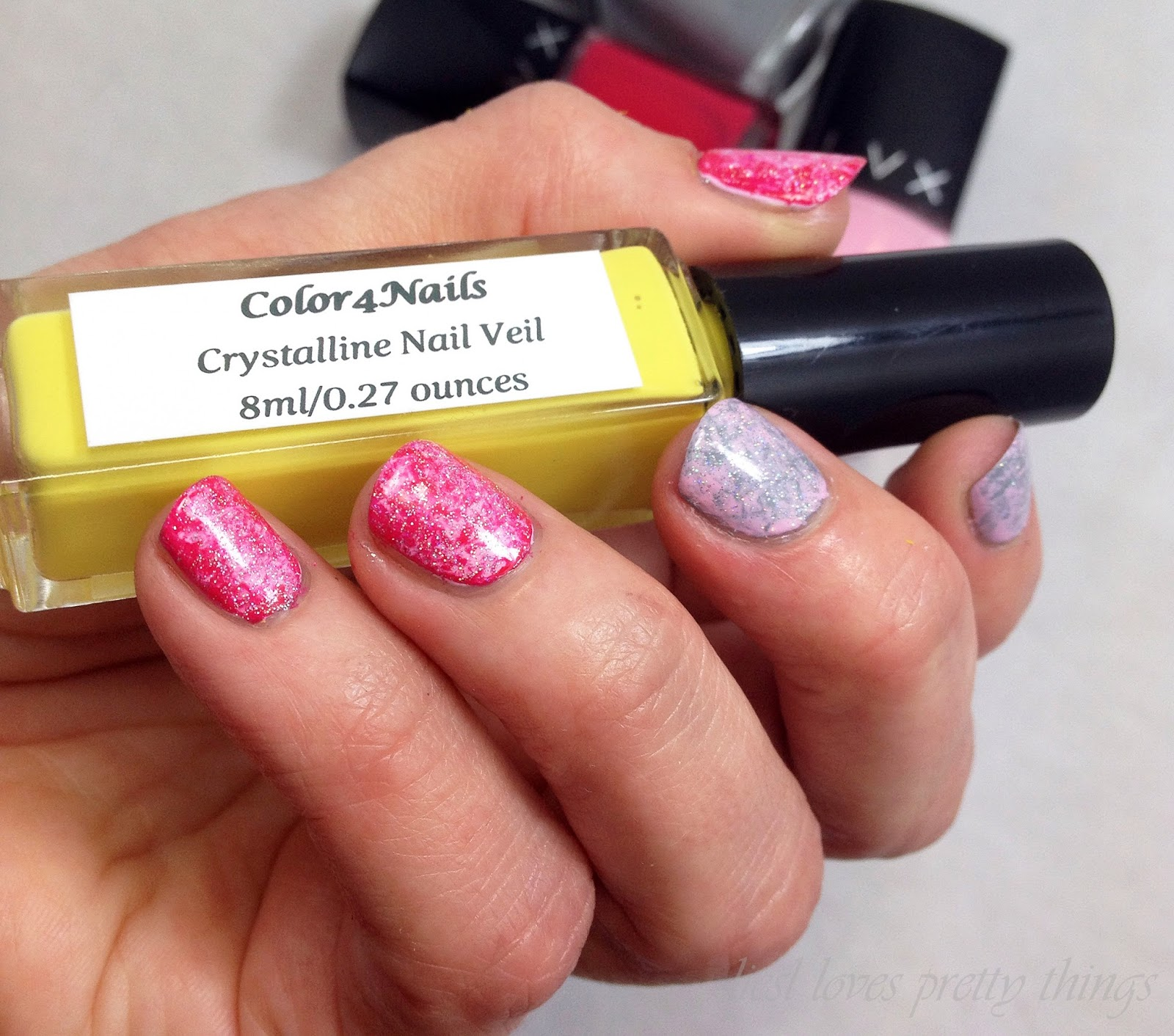 Color4Nails Crystalline Nail Veil Review