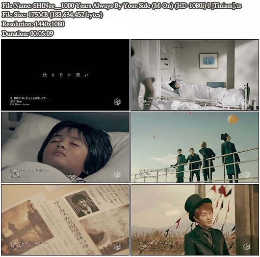 Download PV SHINee - 1000 Years Always By Your Side (1000&#12289;&#12539;&#12539;&#12539;) (M-On Full HD 1080i)