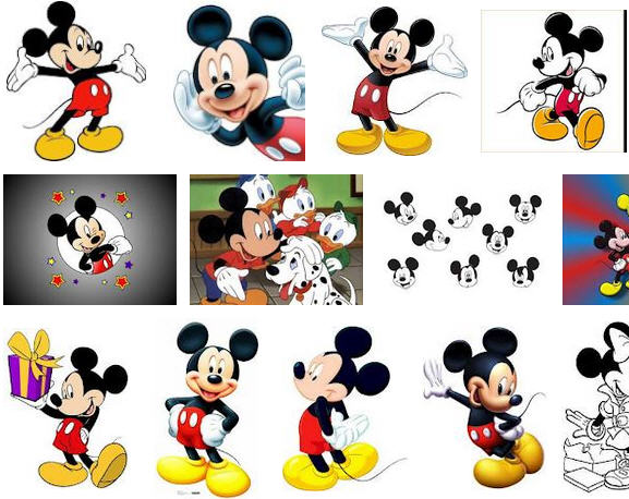 Kenal Dengan Tokoh Kartun Mickey Mouse