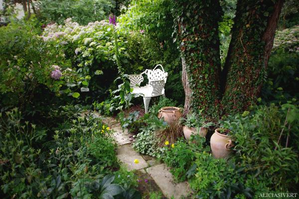 aliciasivert, alicia sivertsson, Les Jardins d'Angelique, normandie, normandy, france, frankrike, trädgård, trädgårdar, garden, gardens, rose, roses, flowers, gardening, flower, blommor, trädgårdskonst, växtlighet, rosor, bänk, bench, pot, pottery, pots, krukor, kruka