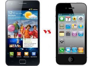 samsung galaxy s 2 vs apple iphone 4 Future of AMoled TV