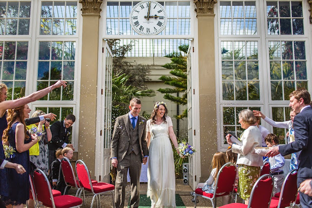 Sheffield Botanical Gardens Wedding by Campbell's Flowers