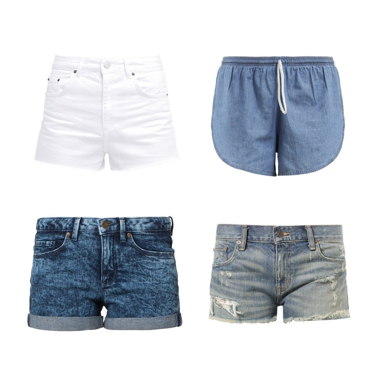 CUTE SHORTS FOR SUMMER - 1310bynora