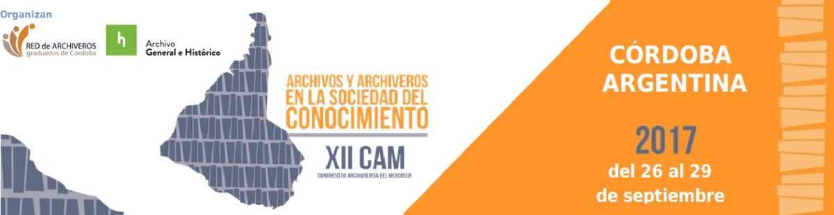 XII Congresso de Arquivologia do Mercosul