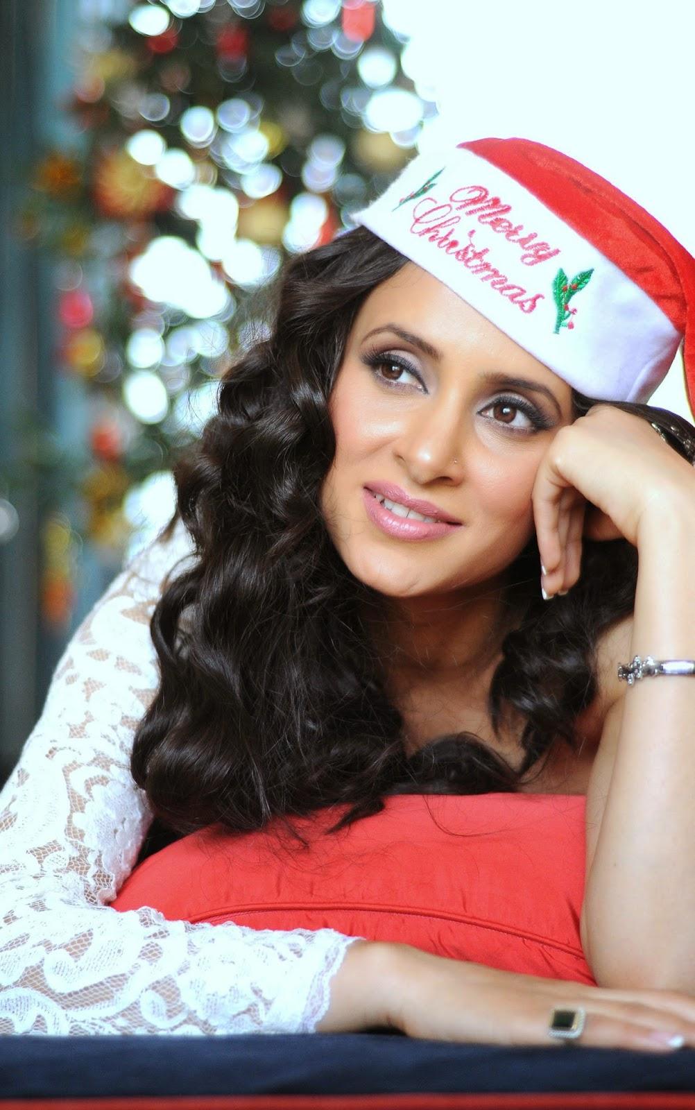 Shweta Khanduri Christmas Celebrations Stills