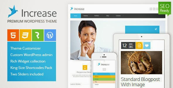 Increase – Premium Business WordPress Theme