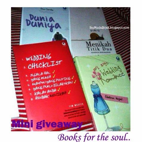 info giveaway indonesia kuis buku