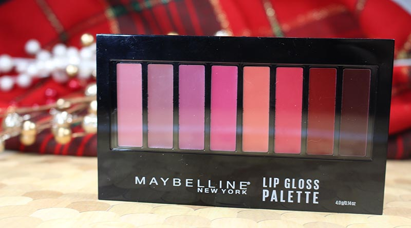 Maybelline Lip gloss palette, gouldylox, beauty, makeup