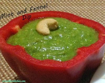 Mint Fennel Dip
