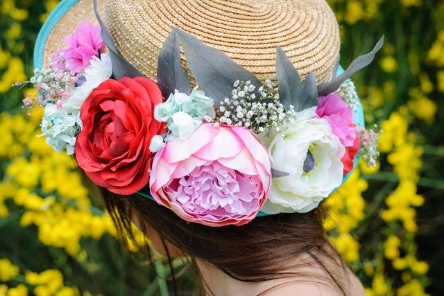 Canotier-con-flores