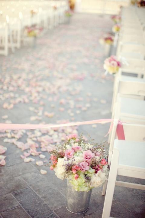 the confetti blog rose petal wedding confetti from the. Black Bedroom Furniture Sets. Home Design Ideas