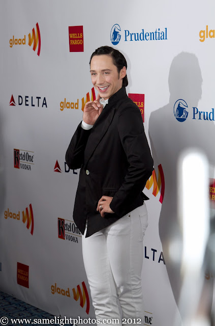 Johnny Weir. Photo © Official Johnny Weir Blog.