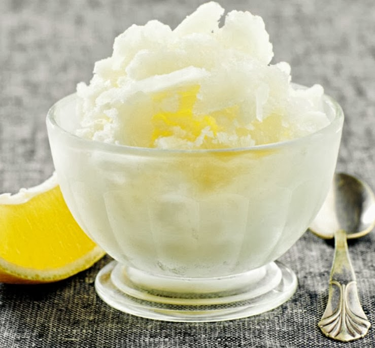 Lemon Granita Recipe — Dishmaps