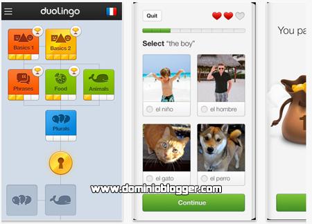 Aprende idiomas gratis con Duolingo en tu iPhone