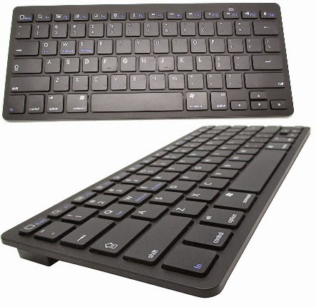 Keyboard Wireless Bluetooth 3.0 (Tanpa Kabel)