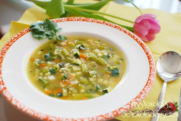 Ayurvedische Reissuppe