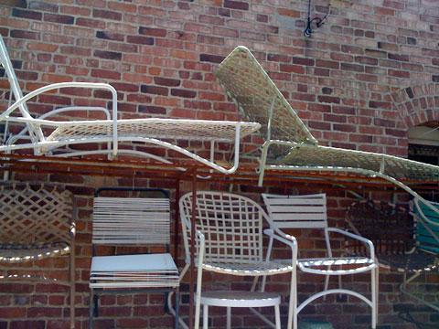 Vintage Outdoor furniture - charlesandhudson.com