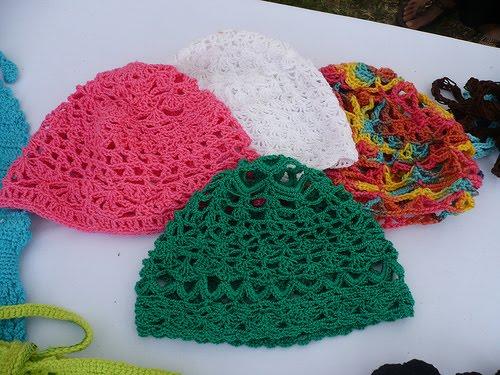 hola ando en busca de patrones para gorros a crochet ojala me puedan ...