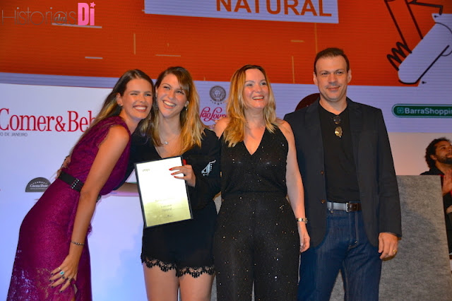 Vencedores da categoria Restaurante Natural: Naturalie Bistrô
