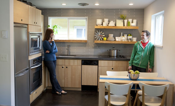 Architects Renovate a Tiny House and Keep It Tiny, Modern ...