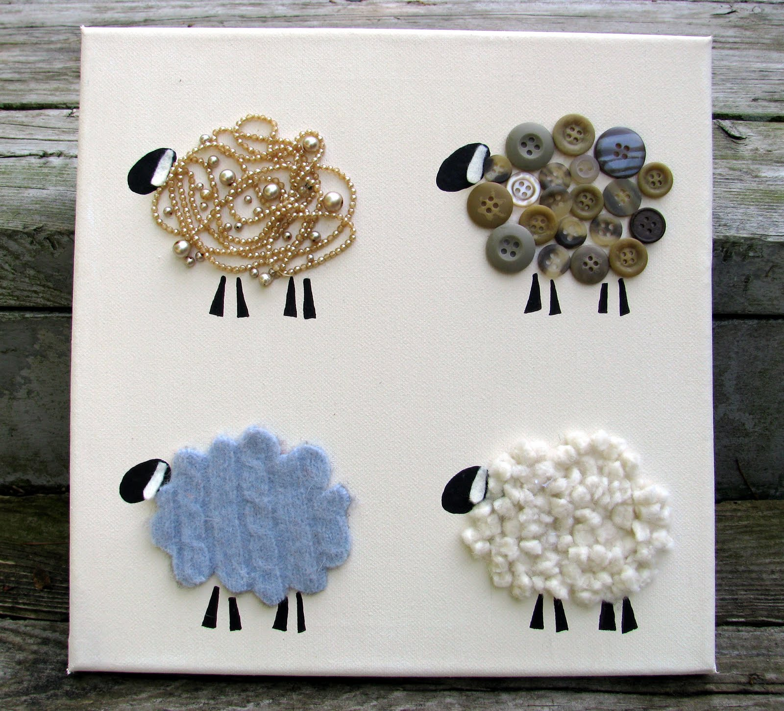 Jacs Of All Trades: Lamb Wall Art
