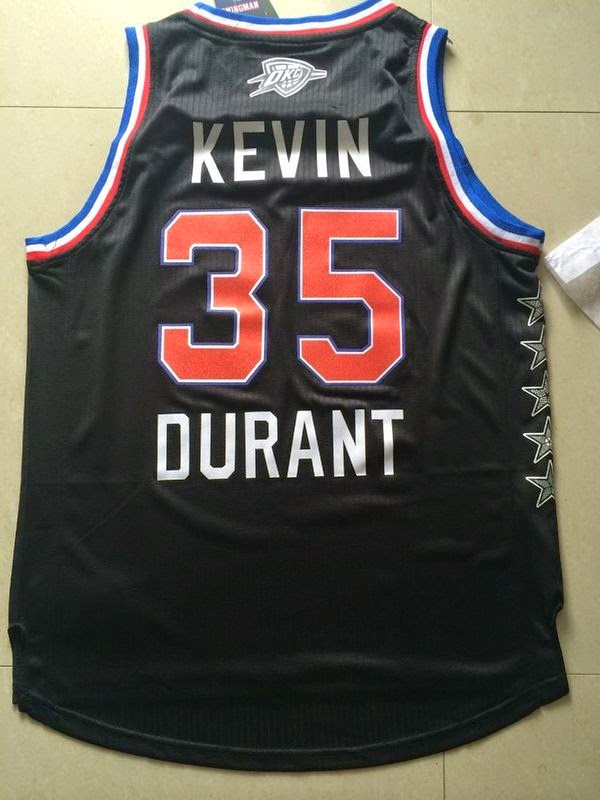 2015 All Star 35 Kevin Durant Game jerseys black 51b6458a7