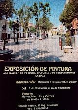 EXPOSICIÓN DE PINTURA         GRUPO PATRAIX