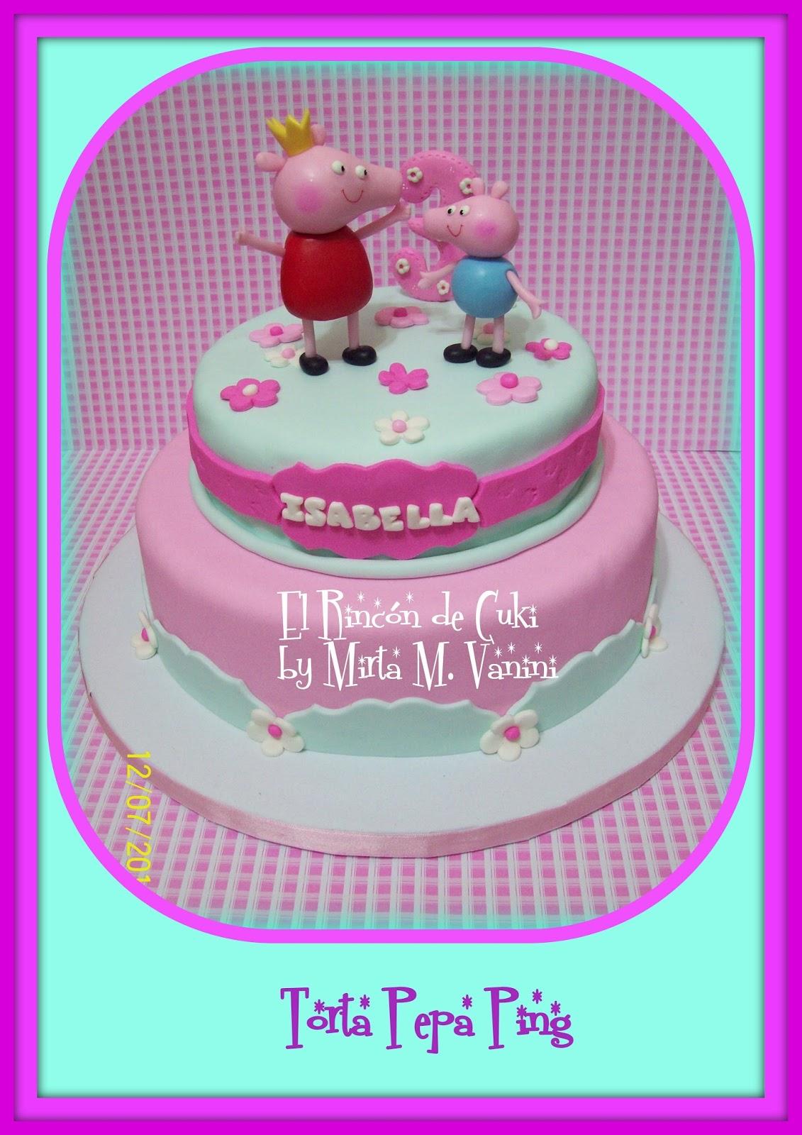 EL RINCON DE CUKI - TORTAS ARTESANALES by Mirta M. Vanini: PEPPA PIG ...