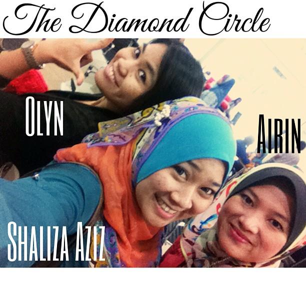Shaliza Aziz, Airin Diana, Siti Azlina