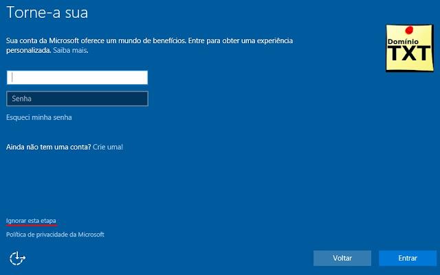 DominioTXT - Windows 10 Instalação