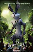 Bunny, el conejo de Pascua cartel personaje conejo de pascua en el origen de los guardianes