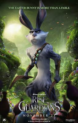 Póster El origen de los guardianes el conejo de pascua