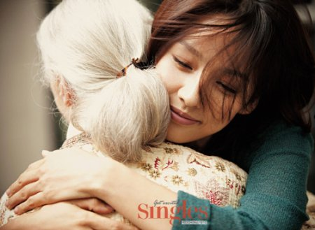Lee Hyori e Jane Goodall