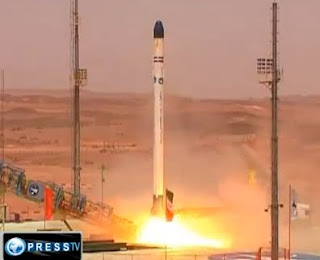 iran launches second satellite