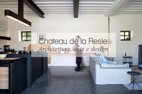 chateau de la resle architettura arte e design blog di. Black Bedroom Furniture Sets. Home Design Ideas