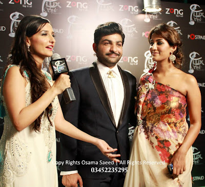 Mathira at LUX Style Awards 2012