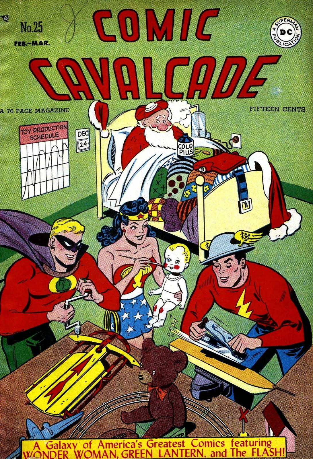 Comic Calvalcade #25