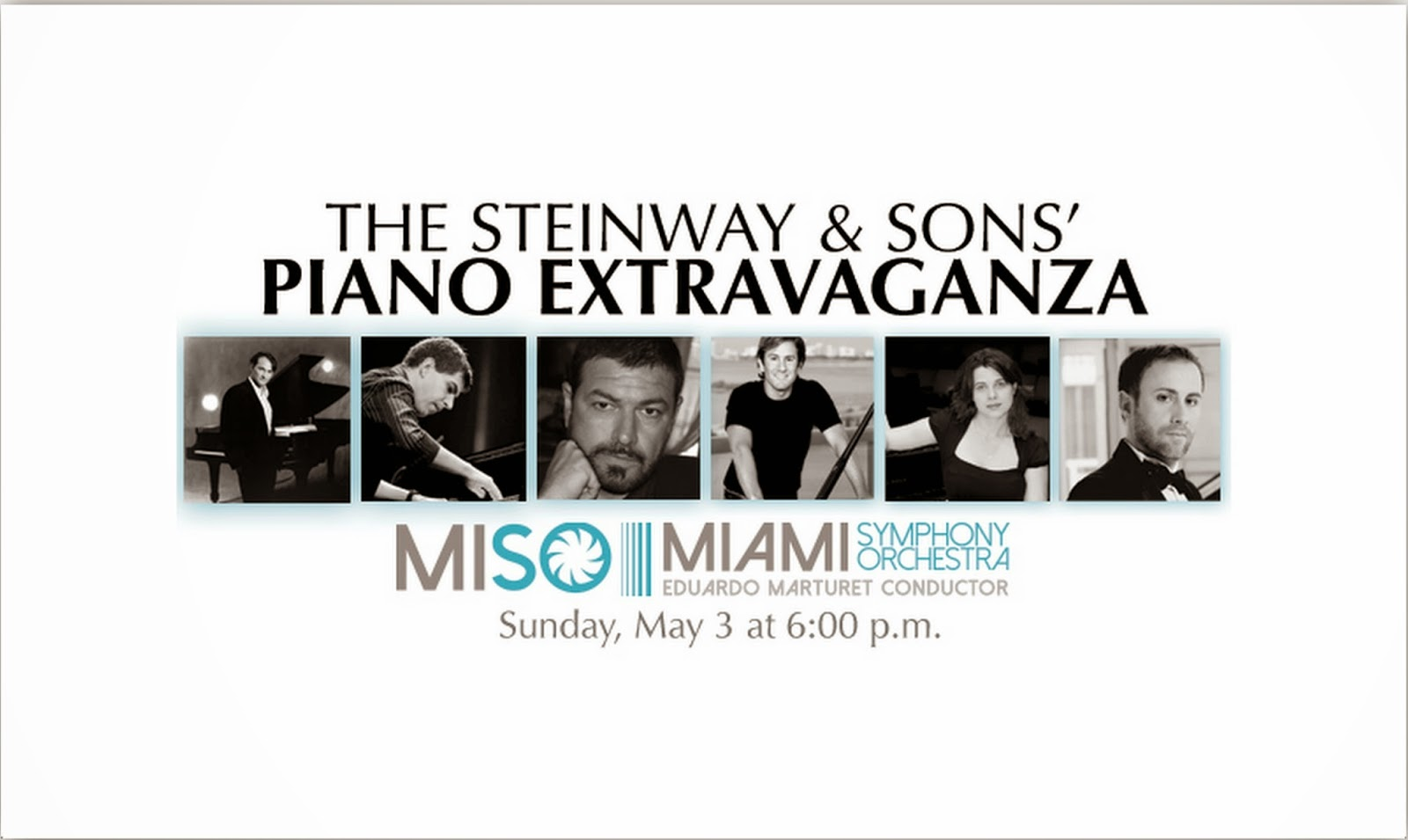 MISO Closes the 2015/2016 Season with  Six Steinway Grand Pianos On Stage