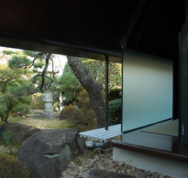 We love japan house desings modern japanese tea house sheet metal architecture in japan - Modern japanese house ...