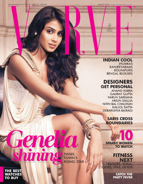 genelia verve shoot actress pics