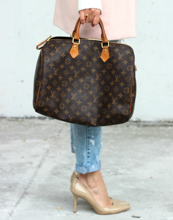 louis vuitton speedy 35 in monogram