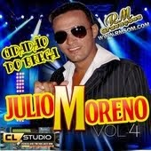 JÚLIO MORENO VOL.4 - CD CIDADÃO DO BREGA