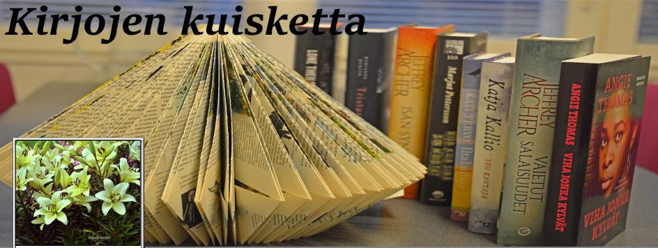 Uusi kirjablogini Kirjojen kuisketta