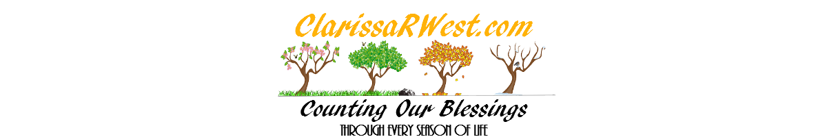 Clarissa R. West @ Counting Our Blessings