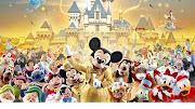 Disney World Cartoon Characters HD Wallpaper (disney world cartoon characters hd wallpaper)