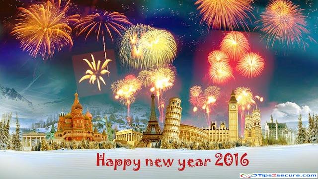 wish happy new year 2016